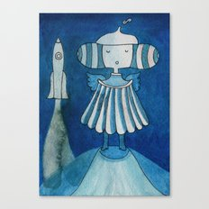 Moonlanding Canvas Print