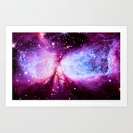 A Star Is Born Nebula Art Print