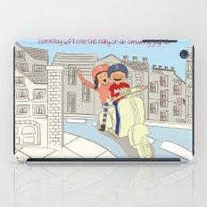 I {❤} Vespa iPad Case