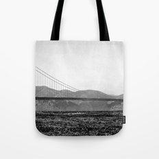Golden San Fran Tote Bag