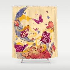 Papillon Ache Shower Curtain