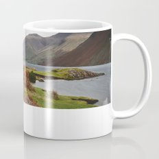 Rain clouds over Scafell and Great Gable. Wastwater, Cumbria, UK. Mug
