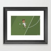 Zidane's Volley Framed Art Print