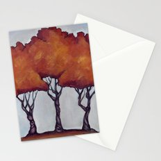 Fall Crepe Myrtles Stationery Cards