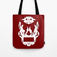 Bloodlust Skull Tote Bag