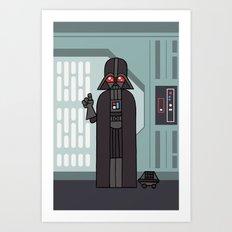 EP4 : Darth Vader Art Print