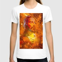 jesus T-shirts featuring Jesus by Saundra Myles