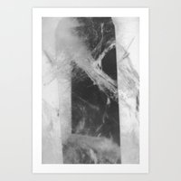 Crystal Depths Art Print