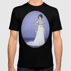 Historical Dress - 1803 Mens Fitted Tee Black SMALL
