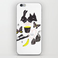 Le Lièvre et le Renard iPhone & iPod Skin