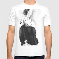 Fashion Illustration –… Mens Fitted Tee White SMALL