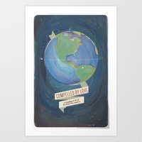 Compelled By Love Space … Art Print