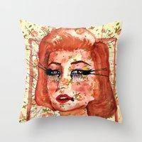 Marilyn Monre Throw Pillow