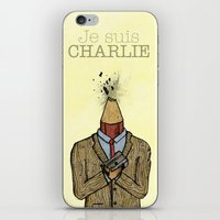 Je Suis Charlie iPhone & iPod Skin