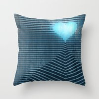 Temple of the Heart Throw Pillow
