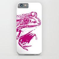 Pink Frog IV iPhone 6 Slim Case
