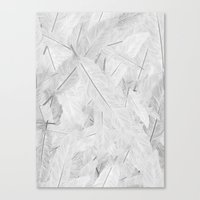 Feathered (Pattern). Canvas Print
