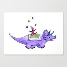 Trick-ceratops! Canvas Print