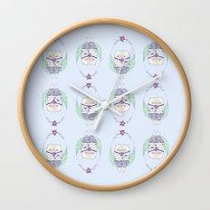 lollipop cat Wall Clock
