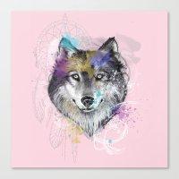 Sasha's Wolf Canvas Print