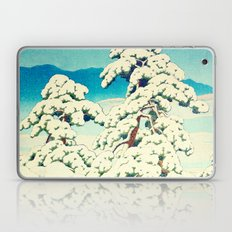 A Morning in the Snow Laptop & iPad Skin