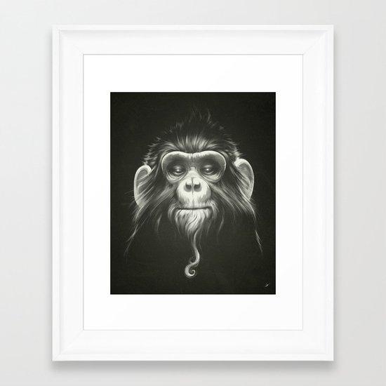 Prisoner (Original) Framed Art Print
