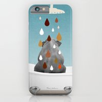 iPhone & iPod Case featuring SHOWER CURTAIN by mark ashkenazi