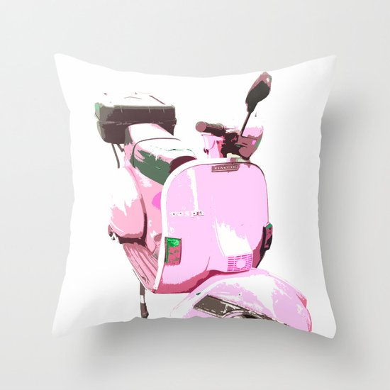 Go Pink! Throw Pillow