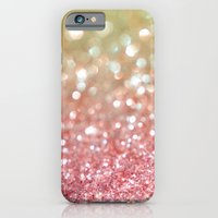 iPhone Cases featuring Champagne Tango by Lisa Argyropoulos