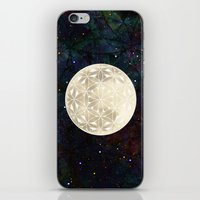 The Flower of Life Moon 2 iPhone & iPod Skin