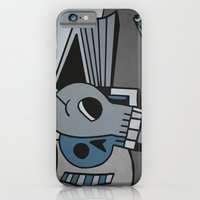 iPhone & iPod Case featuring Skull, Book and Coffee by Matt Jeffs