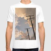 Runaway Mens Fitted Tee White SMALL
