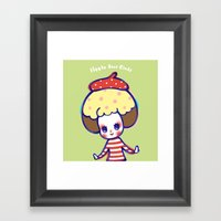 Have Fun In Whatever You… Framed Art Print