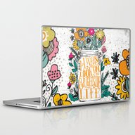 ALWAYS LOOK ON THE BRIGH… Laptop & iPad Skin
