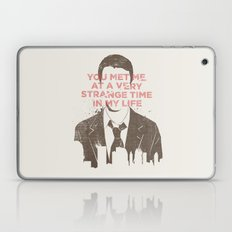 Strange Time Laptop & iPad Skin