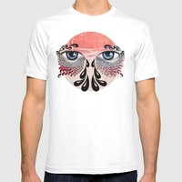 Tears Flow Mens Fitted Tee White SMALL