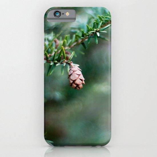 Tiny Pine Cone iPhone & iPod Case