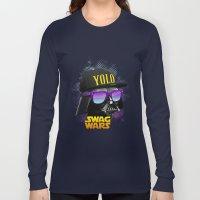 Darth Vader Swag Long Sleeve T-shirt