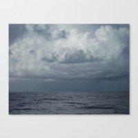 Storm over Ocean, Seascape, North Carolina Canvas Print