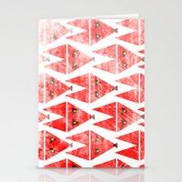 Foxy Pattern Stationery Cards