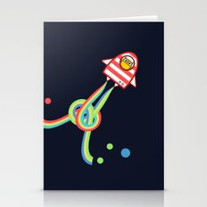 Owl In Space Stationery Cards