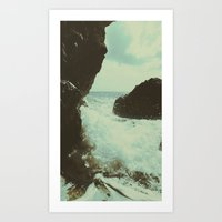 Seaside Part One Art Print