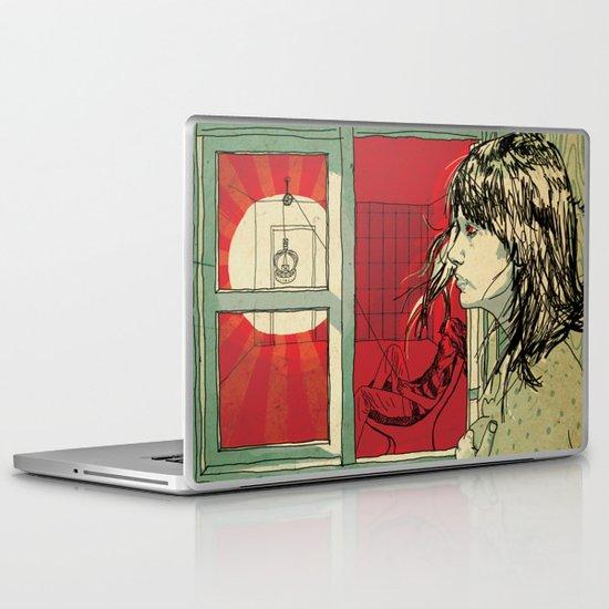 hang this girl Laptop & iPad Skin