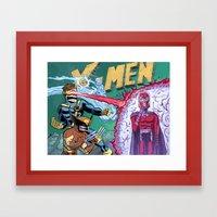 X-Men! Framed Art Print