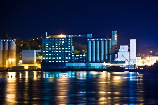Alton, Illinois Mississippi River Factory Art Print