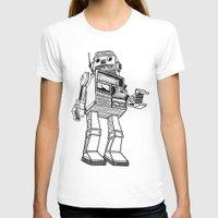 robot T-shirts featuring Robot. by Scott Mckenzie-Lee