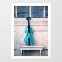 Violin IV Art Print