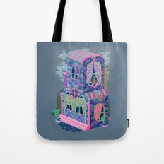 Diamond House Tote Bag