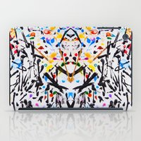The Garden In Abstract iPad Case