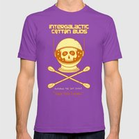 Intergalactic Cotton Bud… Mens Fitted Tee Ultraviolet SMALL
